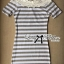 Lady Cherline Smart Casual Striped Lace Dress thumbnail 4