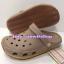 รองเท้า crocs retro clog รุ่นเรโทร สีน้ำตาลอ่อน thumbnail 1