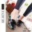รองเท้าเพื่อสุขภาพ ทำจากหนังนิ่ม พื้นยางพาราแท้ บิดหักงอได้ เย็บตะเข็บไว้ด้านนอก thumbnail 2
