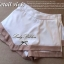 Lady Ribbon's Made Lady Kate Beige and White Two Tone Mini Skirt thumbnail 4