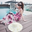Sevy Sweet Summer Vacation Pink Beach Maxi Dress thumbnail 9