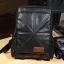 พร้อมส่ง กระเป๋าเป้ ผู้ชาย สีดำ ช่องเก็บของเยอะ จุของได้เยอะ thumbnail 3