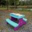 โต๊ะสนามเด็ก ABC สีฟ้า ABC Table Picnic *** จัดส่งฟรีขนส่งเอกชนคะ *** thumbnail 3
