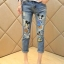 Cliona made,Mickey Mouse Print Denim Casual Jean thumbnail 1