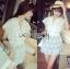 Lady Ribbon's Made Abigail Pretty and Sexy White Lace Mini Dress thumbnail 10