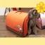 ที่นอนน้องหมา กระเป๋าน้องหมาเอนกประสงค์ สีส้มไซส์ S thumbnail 1