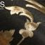 วอลเปเปอร์ลายใบไม้พื้นสีน้ำตาลเข้ม LTD-J74 thumbnail 2