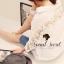 Smart Shirt Long Sleeve See Through Lace Furnish by Seoul Secret Material thumbnail 6