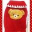 เสื้อน้องหมารีลัคคุมะสีแดง พร้อมส่ง thumbnail 1