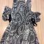 Cliona made' Lucy Charming Grey Summer Beach Long Dress thumbnail 18