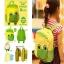 กระเป๋าเป้สำหรับเด็กรูปเจ้ากบน้อย (สีเหลือง-เขียว) thumbnail 3
