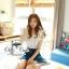 언발 나시블라우스 Angel wing blouse and denim short&#x2605 &#x2661Odee&Cutie Daily Fashion 2014&#x2661 thumbnail 3