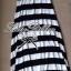 Lady Julienne Urban Chic Stripped Maxi Dress thumbnail 10