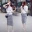 Cliona made' Korean Summer Shirt + Beeline Skirt Set thumbnail 6