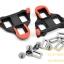 คลิ๊ปติดพื้นรองเท้า Cleat Sets บันใดเสือหมอบ รุ่น SM-SH10, สีแดง SHIMANO thumbnail 2