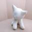 ตุ๊กตาแมวหมอบ สีขาว Kitten Cat Softy Toy - White thumbnail 2