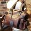 พร้อมส่ง กระเป๋าถือ กระเป๋าสะพาย กระเป๋าหนัง PU สีน้ำตาล มีสายสะพายไหล่ สายปรับขนาดได้ มีช่องเก็บของเยอะ จุของได้เยอะ thumbnail 1