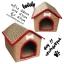 ที่นอนน้องหมา บ้านน้องหมาสีน้ำตาลลายเสือ พร้อมส่ง thumbnail 1