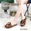 รองเท้าแตะพื้นนิ่มเพื่อสุขภาพด้านบนปีะดับดอกไม้น่ารัก thumbnail 3