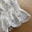 Lady Ellie Fancy Ruffle White Lace Dress thumbnail 8