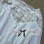 Lady Ribbon's Made Lady Aerin Pretty Insert Lace White Chiffon Blouse thumbnail 8