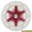 เฟือง SUNRACE รุ่น CSMX3 silver/red 10 SPD ขนาด 11-42T thumbnail 2
