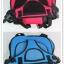 ที่นั่งเด็ก 2 in 1นั่งในรถยนต์สำหรับเด็ก ไม่ต้องพึ่งคาร์ซีท สีแดง thumbnail 4
