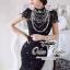 Valentino elegant black lace dress thumbnail 3