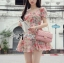 Lady Ribbon's Made Lady Rosie Sweet Flowery Chiffon Mini Dress thumbnail 2