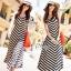 Sevy Arrow Stripes Maxi Dress thumbnail 4