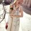 Flower & Leaf Glitter and Colors Jewel Furnish Premium Dress by Seoul Secret thumbnail 4