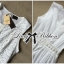 Lady Ribbon's Made Lady Kristy Vintage Classic White Embroidered Dress thumbnail 4