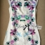 Lady Ribbon's Made Lady Verena Pastel Colorful Blooming Flowery Body Con Dress thumbnail 4