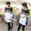 Lady Ribbon's Made Lady Pippa Minimal Casual Striped Dress thumbnail 1
