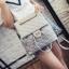 กระเป๋าสะพาย multi-functions ดีไซน์สวยเก๋สไตล์งานแบรนด์ วัสดุ pu เนื้อหนานุ่มคุณภาพดี thumbnail 4