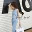 Seoul Secret Say's... Layla PlaySuits Denim Lace thumbnail 3