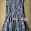 Lady Ribbon's Made Lady Victoria Floral Petite Print Cut-shoulder Mini dress thumbnail 4