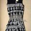 Lady Ribbon's Made Black & white Antique Playsuit thumbnail 4