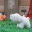 Let's be friends polar bear S paperweight (flop) thumbnail 1