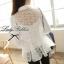 Lady Ribbon's Made Lady Blooming Organdy Shirt thumbnail 5