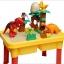 โต๊ะกิจกรรมเลโก้บล็อกต่อไดโนเสาร์ /สามารถเปลี่ยนเป็นโต๊ะเขียนได้ด้วย thumbnail 1