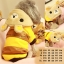 (พร้อมส่ง) เสื้อกันหนาวสุนัข รีลัคคุมะ กระดุมหน้า มีฮูท thumbnail 1
