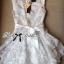 Lady Ribbon's Made Lady Camilla Sweet Elegant Blossom Print Ribbon Dress thumbnail 5