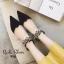 รองเท้าคัทชูหรู สร้อยเพชร หัวแหลม thumbnail 3