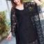Chill-Out Soft Lace Kaftan Dress thumbnail 9
