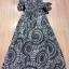 Cliona made' Lucy Charming Grey Summer Beach Long Dress thumbnail 11