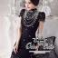 Valentino elegant black lace dress thumbnail 2