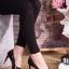 รองเท้าคัทชูส้นสูงสไตล์ valentino thumbnail 3