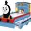 เตียงหัวรถจักรแบบไสลด์ได้2ชั้น ( Train slide bed) thumbnail 1