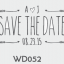 ตราปั๊มงานแต่ง WD052 thumbnail 1